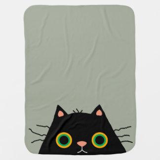 Frumpy Cat Baby Blanket