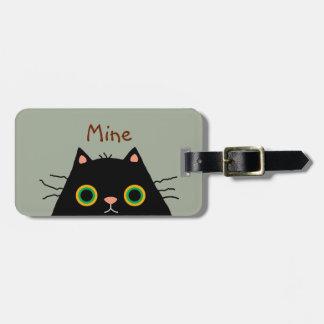 Frumpy Cat Bag Tag