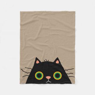 Frumpy Cat Fleece Blanket