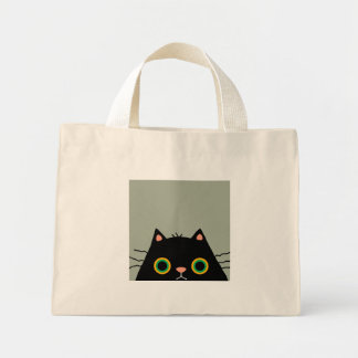 Frumpy Cat Mini Tote Bag