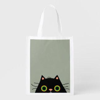 Frumpy Cat Reusable Grocery Bag