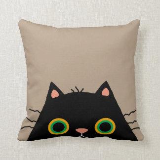 Frumpy Cat Throw Pillow