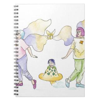 Frumpy Fairies Notebook