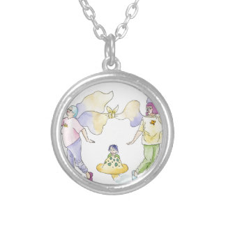 Frumpy Fairies Silver Plated Necklace
