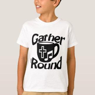 Frunce alrededor camisas