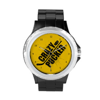 Fruncido loco relojes