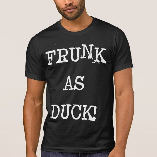 Frunk como pato remera