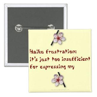 Frustración del Haiku Pins