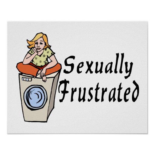 Frustrado sexual póster