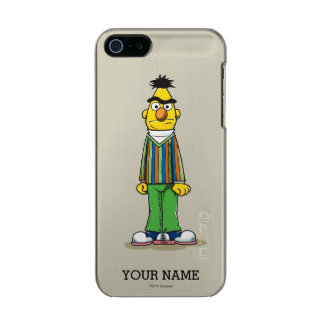 Frustrated Bert | Add Your Name Metallic iPhone SE/5/5s Case