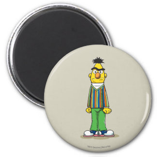 Frustrated Bert 2 Inch Round Magnet