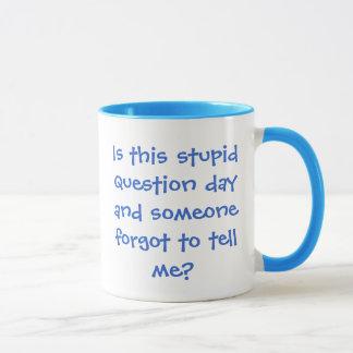 frustrated girl mug