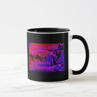 frustrated logo mug