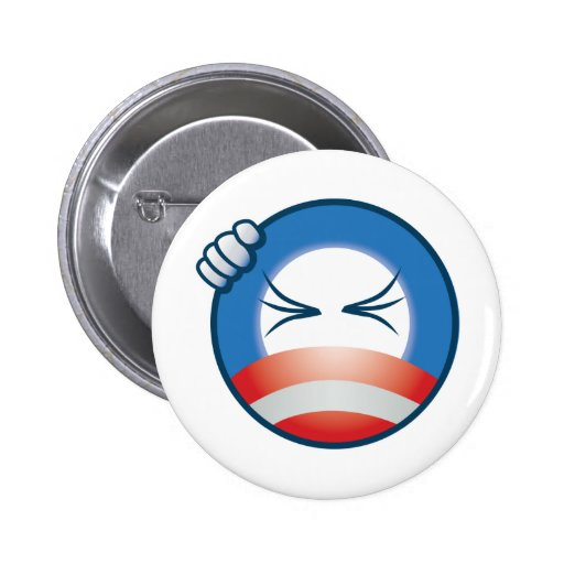 """Frustrated """"O"""" Face Button"""