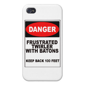 Frustrated Twirler iPhone 4/4S Case