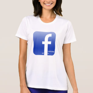 Frustrated Wife Facebook Logo Hilarious Shirt