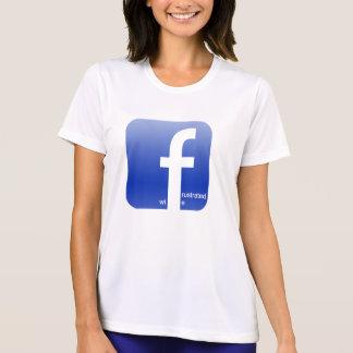 Frustrated Wife Facebook Logo Hilarious T-Shirt