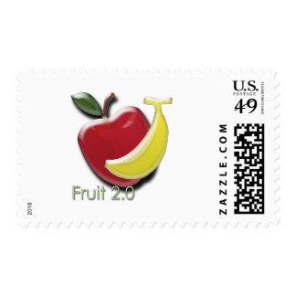 Fruta 2,0 estampillas