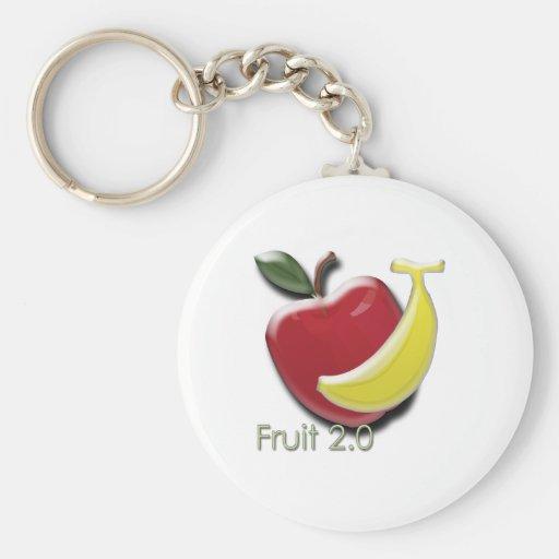 Fruta 2,0 llaveros personalizados