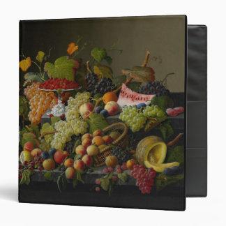 """Fruta abundante, 1858 (aceite en lona) carpeta 1 1/2"""""""
