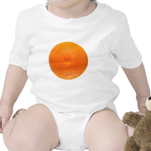 Fruta anaranjada trajes de bebé