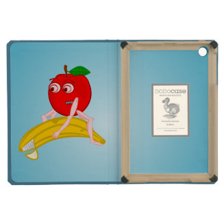 Fruta Apple divertido del osteópata que endereza