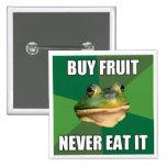 Fruta asquerosa de la compra de la rana del solter pins