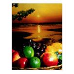Fruta, aún vida postal