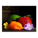 fruta-aún-vida tarjetas postales