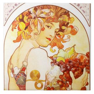 Fruta - baldosa cerámica grande tejas  cerámicas