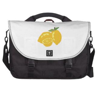 Fruta cítrica amarga bolsa de ordenador