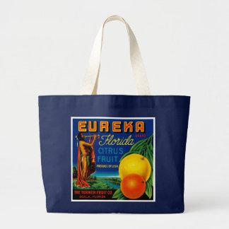Fruta cítrica de Eureka la Florida Bolsa De Mano