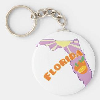 Fruta cítrica de la Florida Llavero Redondo Tipo Pin
