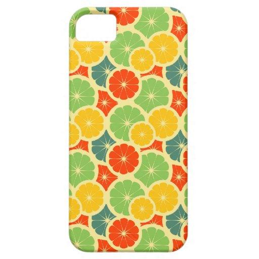 Fruta cítrica iPhone 5 cárcasas
