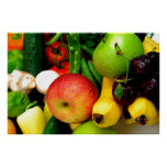 Fruta clasificada impresiones