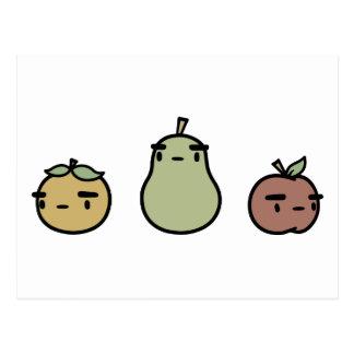 Fruta clasificada postales