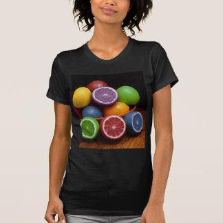 Fruta colorida playera