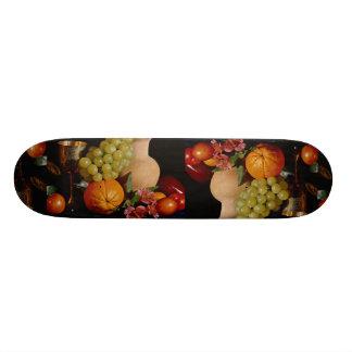 Fruta, cubilete y jarro patinetas personalizadas