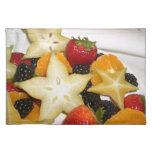 Fruta de estrella Placemat Manteles Individuales
