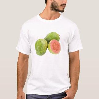Fruta de guayaba rosada playera
