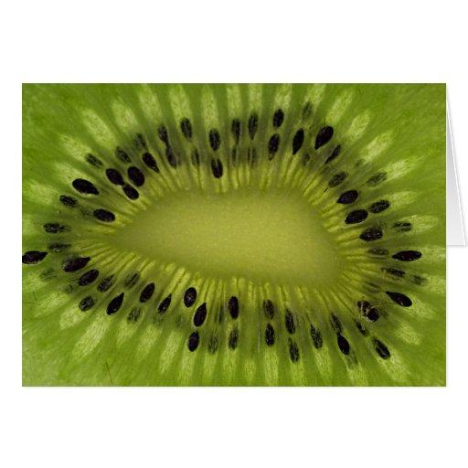 Fruta de kiwi felicitacion