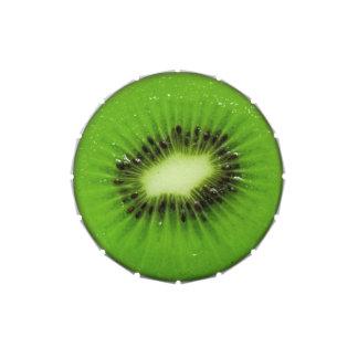 Fruta de kiwi - lata del caramelo jarrones de caramelos