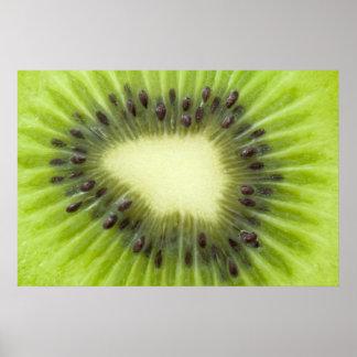 Fruta de kiwi póster