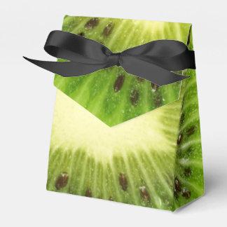 Fruta de kiwi verde fresca inusual cajas para detalles de boda