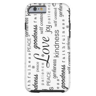 Fruta de la alegría de la PAZ del amor del blanco Funda Resistente iPhone 6