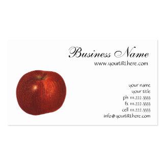 Fruta de la comida del vintage Apple red deliciou