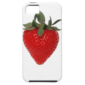 Fruta de la fresa iPhone 5 funda