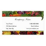 Fruta de la frontera - tarjetas de visita vegetale
