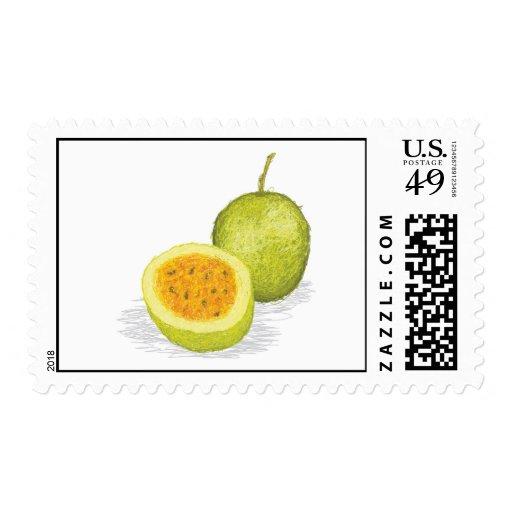 fruta de la pasión sellos