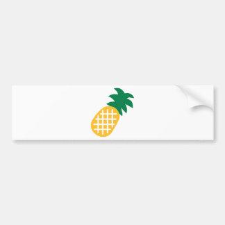 Fruta de la piña pegatina para auto